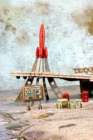 Fallout: Red Rocket Scenic Set 1