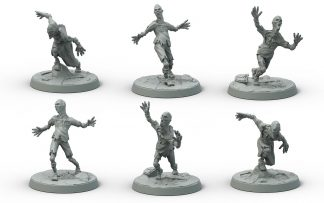 Fallout: Wasteland Creatures Feral Ghouls 1