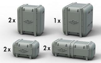 Fallout: Terrain Expansion Vault Tec Supplies 1
