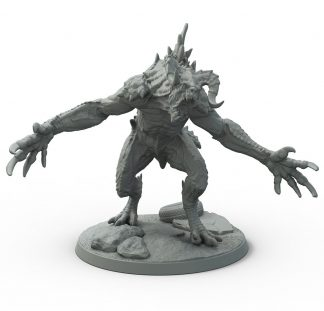Fallout: Wasteland Creatures Deathclaw 1
