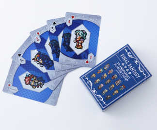 Final Fantasy Transparent Playing Cards 1