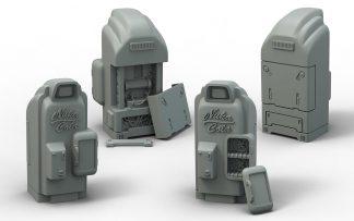 Fallout: Terrain Expansion Nuka Cola Machines (x4) 1