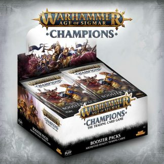 Warhammer Age of Sigmar: Champions Wave 1 Booster Display (24) 1