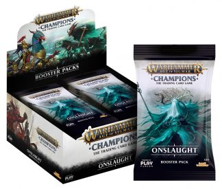 Warhammer Age of Sigmar: Champions Wave 2 Onslaught Booster Display (24) 1