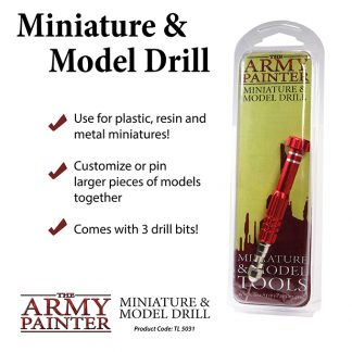 Army Painter Miniature and Model Drill 1