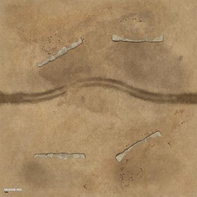 Desert Kasserine Pass Game Mat 36 x 36 1
