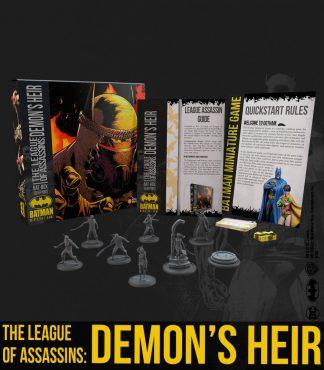 The League Of Assassins: Demon's Heir 1