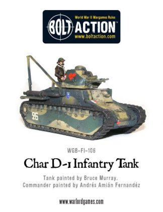 French Char D-1 Infantry tank 1