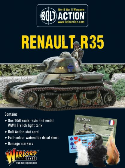 French Renault R-35 Tank 1