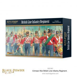 Crimean War British Line Infantry Regiment 1