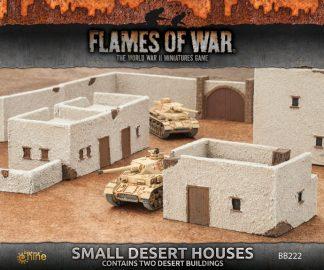 Flames of War: Small Desert Houses 1