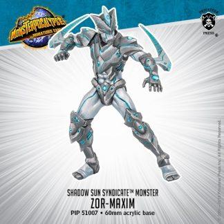 Monsterpocalypse Shadow Sun Syndicate Zor Maxim 1