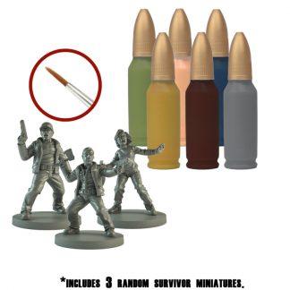 The Walking Dead Survivor Paint Set 1