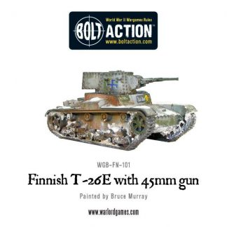 Finnish T-26-E Vickers 6-tonner with 45mm gun 1
