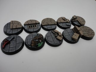 Cityfight: 25mm Round Bases (10) 1