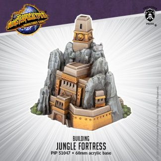 Monsterpocalypse Empire of the Apes Jungle Fortress 1