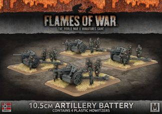 10.5cm Artillery Battery (plastic) 1