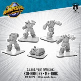Monsterpocalypse G.A.U.R.D. Exo Armors Elite & Mr-Tank 1