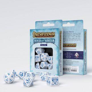 Pathfinder Reign of Winter Dice Set (7) 1