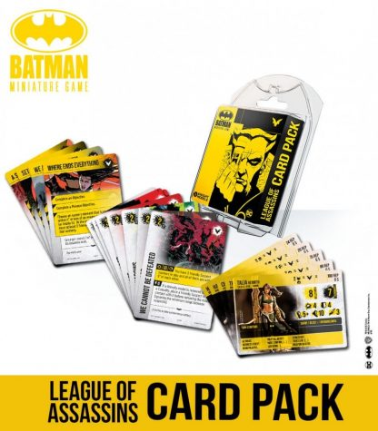 Batman Miniature Game: League Of Assassins Card Pack 1
