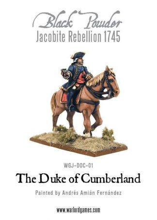 Jacobite Rebellion: Duke of Cumberland 1745 1