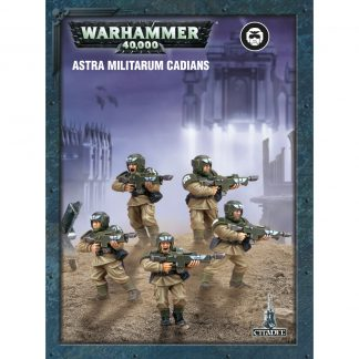 Easy to Build: Astra Militarum Cadians 1