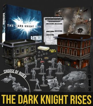 The Dark Knight Rises - Two Player Game Box 1