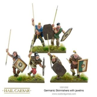 Germanic Skirmishers with Javelins 1