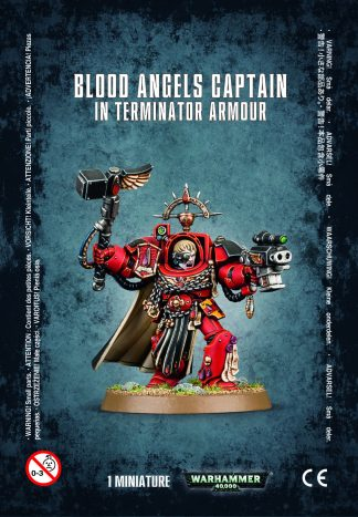 Blood Angels Captain In Terminator Armour 1