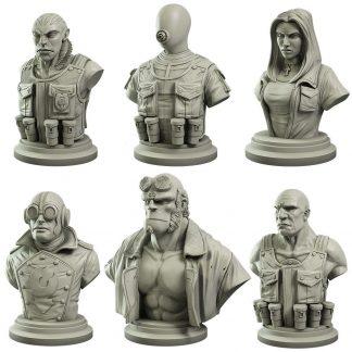 Hellboy Collector's Bust Set 1