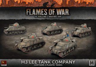 M3 Lee Tank Company (plastic) 1
