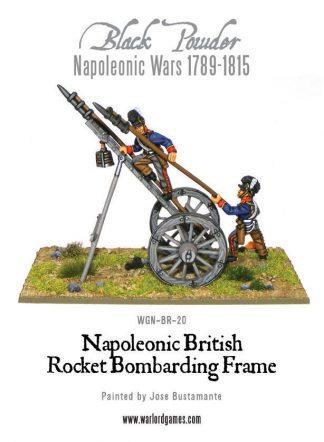 Napoleonic British Rocket Bombarding Frame 1