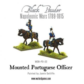 Napoleonic Portuguese Mounted Officer 1