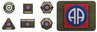 US 82nd Airborne Division Tokens & Objectives 1