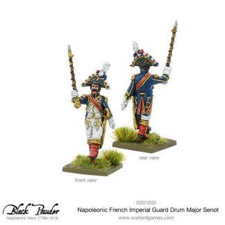 Napoleonic French Imperial Guard Drum Major Senot 1