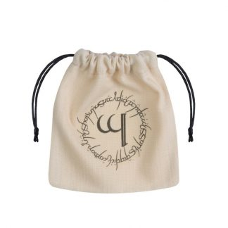 Elvish Beige & black Dice Bag 1