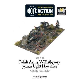 Polish Army 75mm light artillery 1