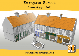 European Street Scenery Set 1