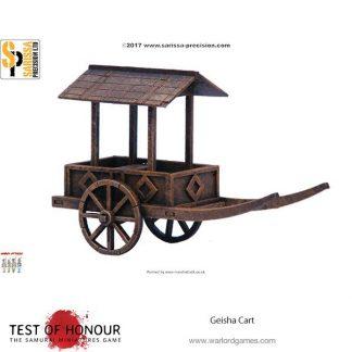 Feudal Japanese Geisha Cart 1