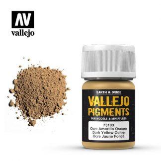 Vallejo Pigment - Dark Yellow Ocre 1