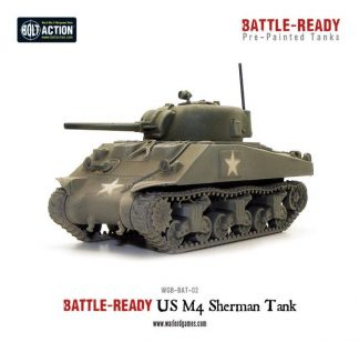 M4A3 Sherman Battle Ready Tank 1