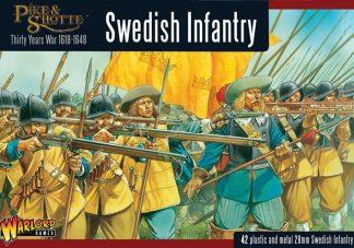 Swedish Infantry Regiment boxed set 1