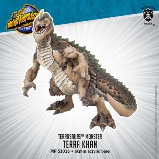 Monsterpocalypse Terrasaur Monster Terra Khan 1