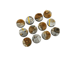 Highway Bases, Round 25mm (5) 1