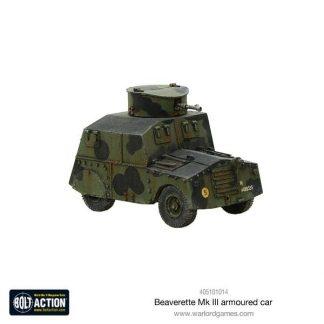 British Beaverette Armoured Car 1
