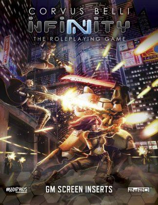 Infinity RPG: Gamemaster's Screen 1