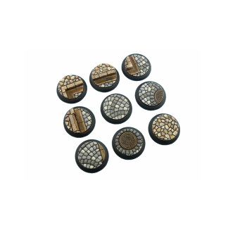 Cobblestone Bases, WRound 30mm (5) 1