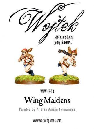 Dwarf Ladies - Wing Maidens 1