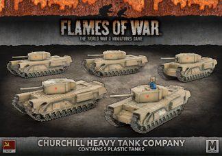 Churchill Guards Heavy Tank Company (Plastic) 1