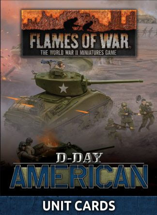 D-Day American Unit Cards 1